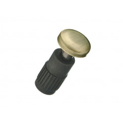 Заглушка для рейлингов Модерн Античная бронза