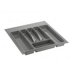 Лоток для столовых приборов Металлик