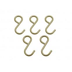 Комплект крючков малых Античная бронза
