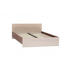 Кровать Бася КР-560 1.4м Ясень шимо светлый